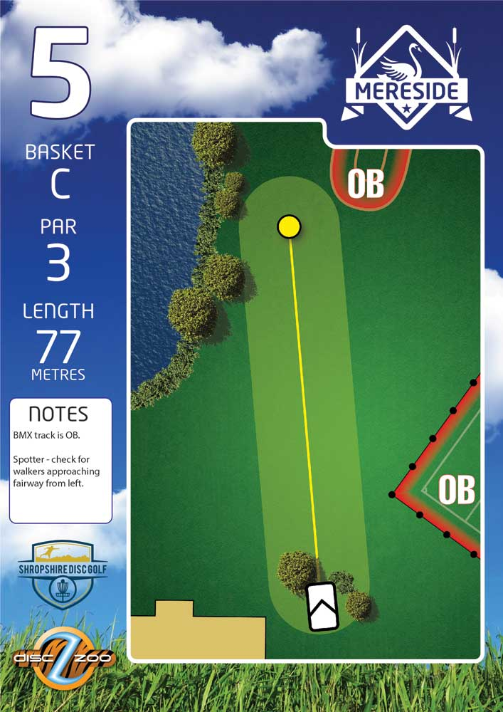 Mereside Blue 18 Course - Hole 5