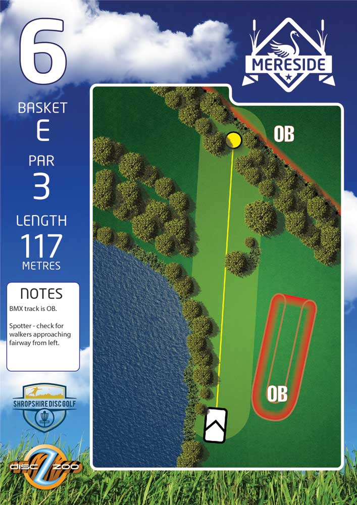 Mereside Blue 18 Course - Hole 6