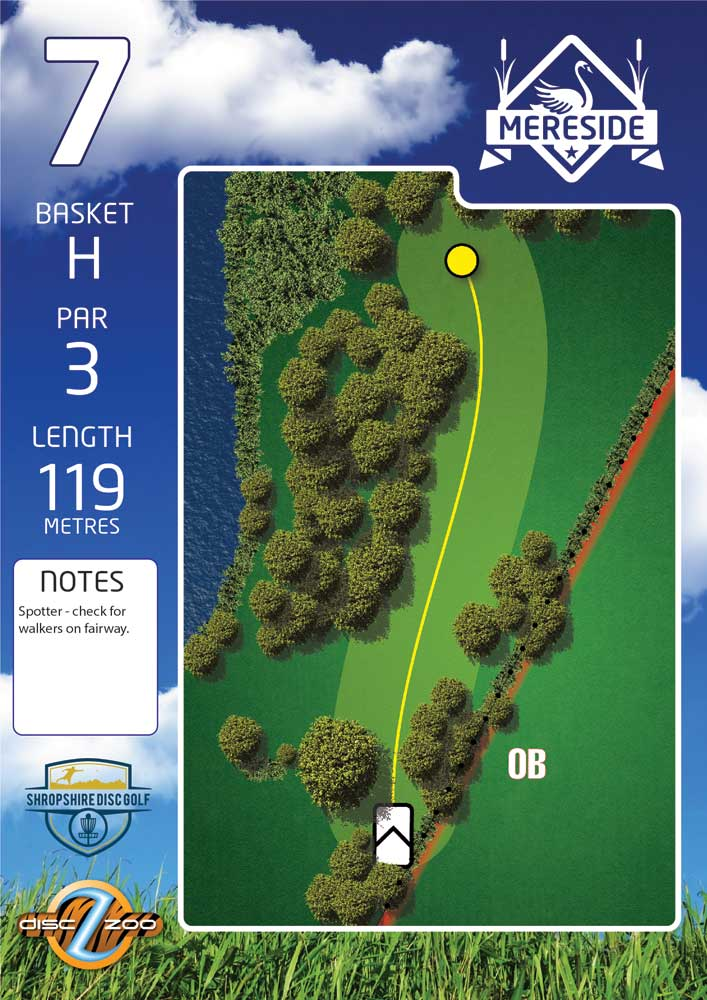 Mereside Blue 18 Course - Hole 7