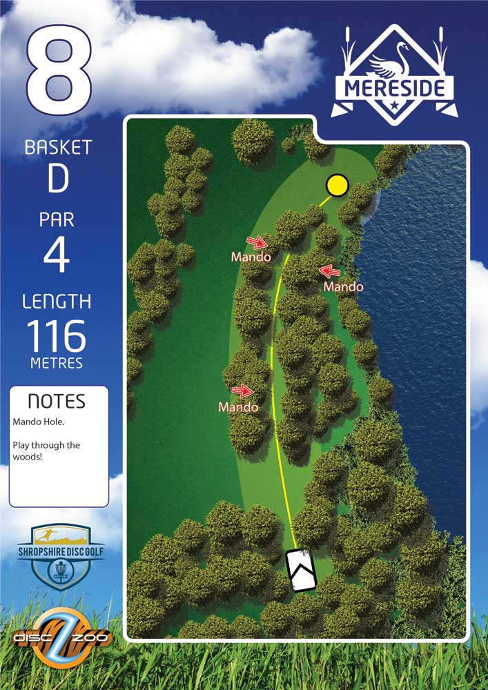 Mereside Blue 18 Course - Hole 8
