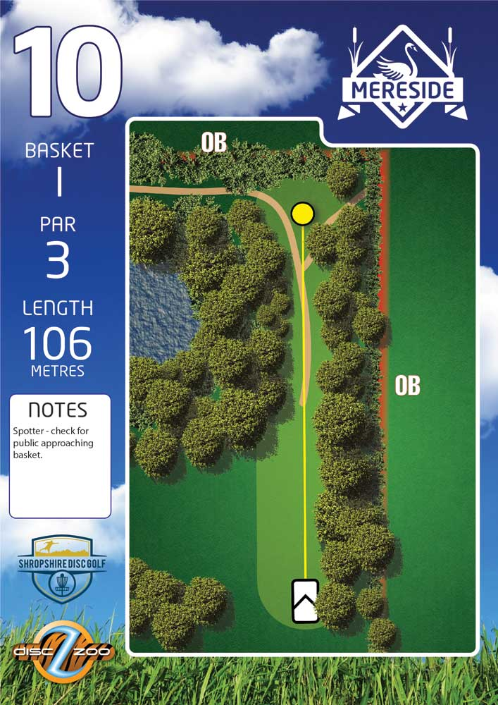 Mereside Blue 18 Course - Hole 10
