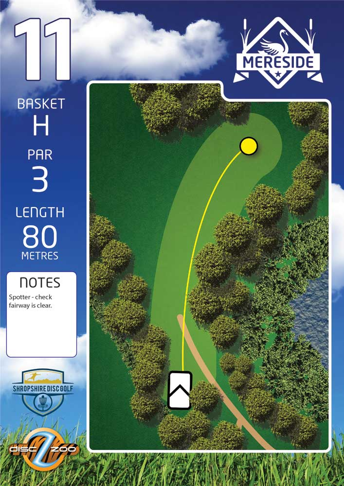 Mereside Blue 18 Course - Hole 11