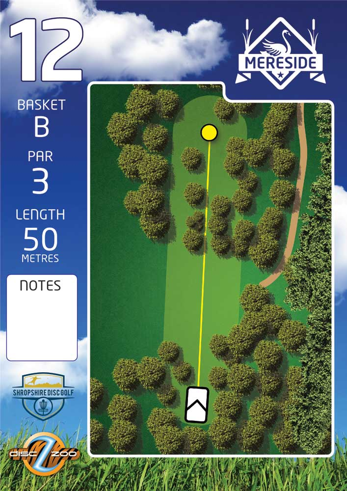 Mereside Blue 18 Course - Hole 12