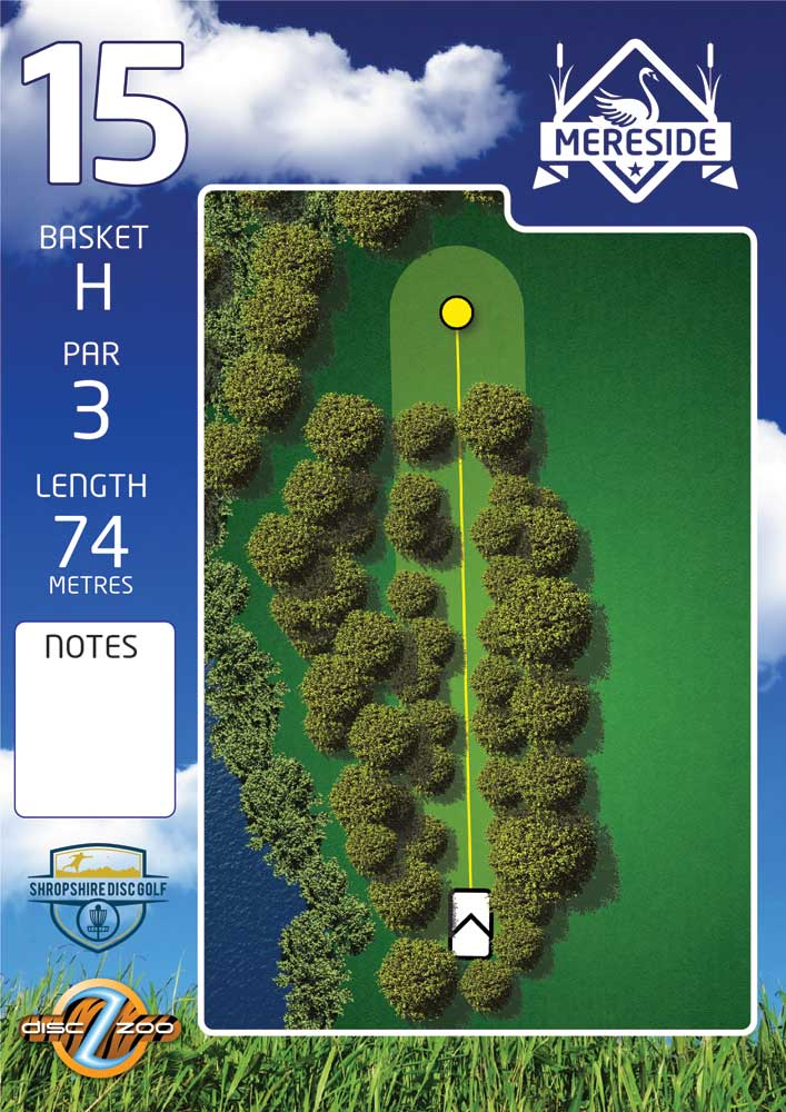 Mereside Blue 18 Course - Hole 15