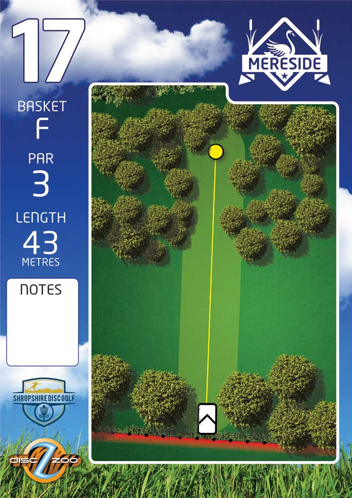 Mereside Blue 18 Course - Hole 17